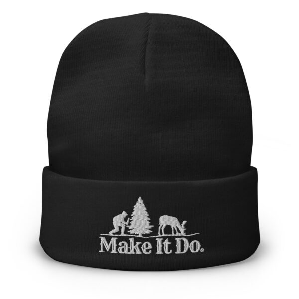 Gifts For Men Beanie Hat - Make It Do® featuring Hunter Logo