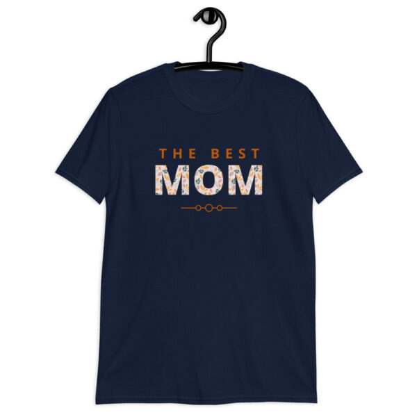 Navy colored best mom shirt
